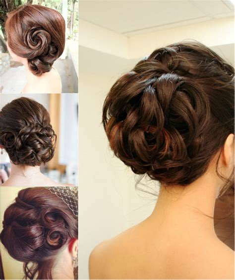 Simple Wedding Hairstyles by Chic Photos Of Simple Wedding Hairstyles To The Side