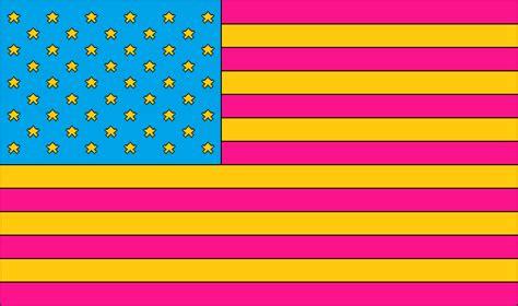 pansexual american flag  amature nascent  deviantart