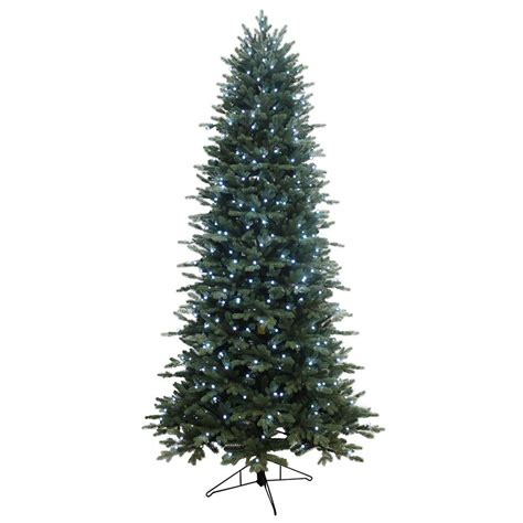 shop ge 7 5 ft pre lit aspen fir artificial christmas tree