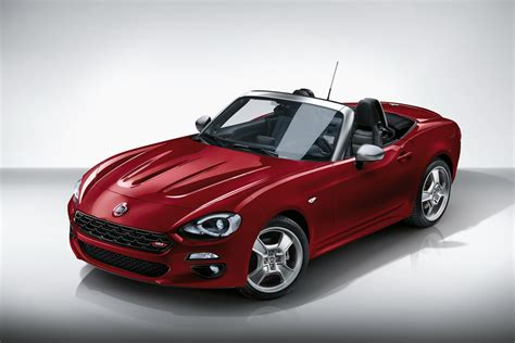 fiat spider fiat 124 spider europa celebrates history with exclusive
