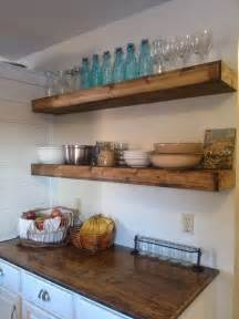 65 ideas of using open kitchen wall shelves shelterness wall mounted shelving kitchen wall shelves ideas diy