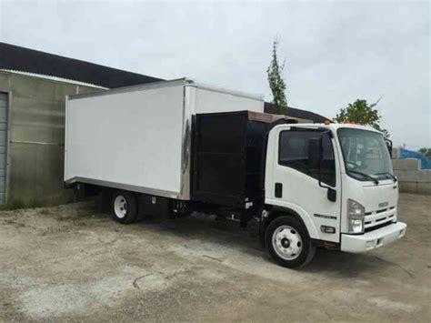 isuzu npr hd efi 2014 van box trucks