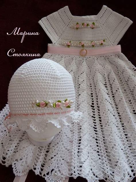 imagenes y patrones de vestidos tejidos para nias patrones para hacer vestidos a crochet para nina09
