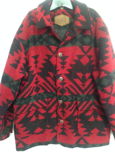 Jacket 02021664 Green Aztec Pattern 17 best images about vintage clothing and patterns on