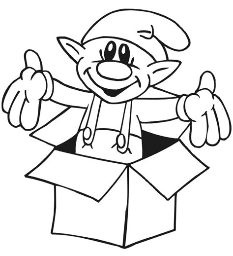 funny elf coloring pages christmas coloring pages color in christmas pictures