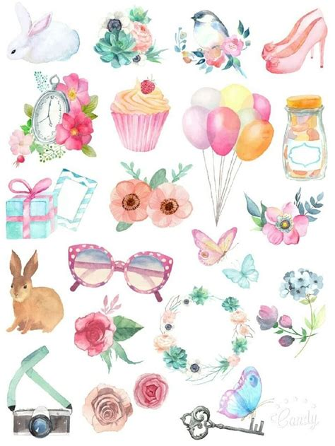 printable stickers cute cute printable stickers journalingsage com