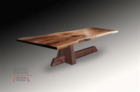 live edge slab dining room table shinto live edge wood slab dining table jeffrey greene