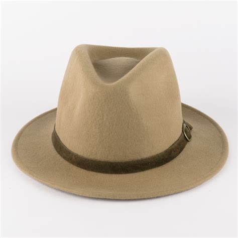 Handmade Fedora - 100 wool fedora hat with suede belt handmade in italy ebay