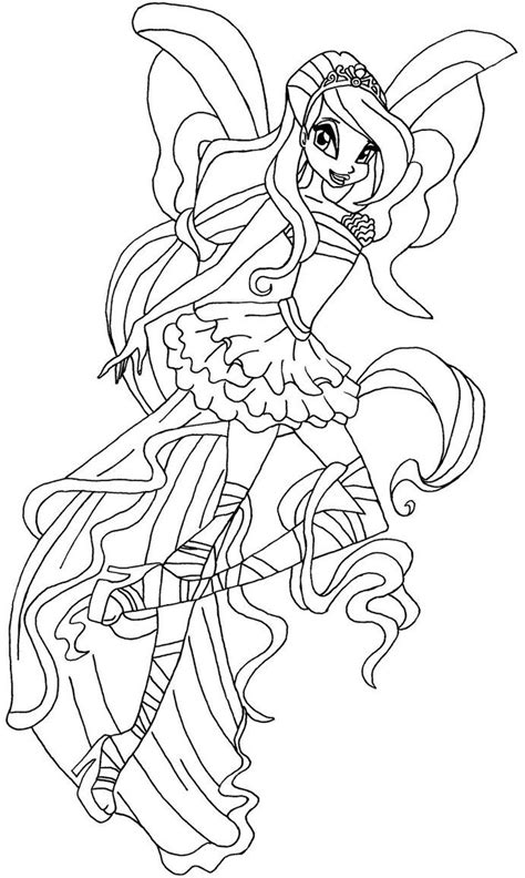 coloring pages winx google search andy pinterest