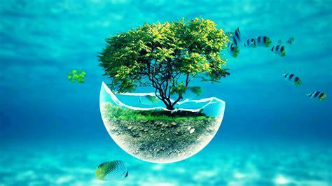 x underwater tree widescreen hd abstract desktop wallpaper