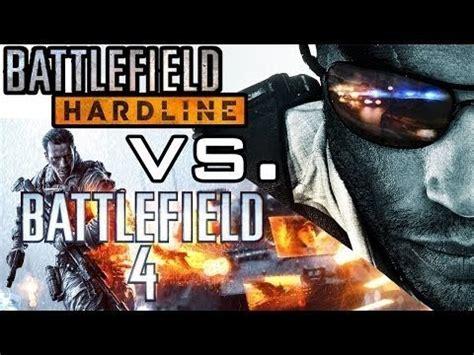 battlefield hardline vs battlefield 4