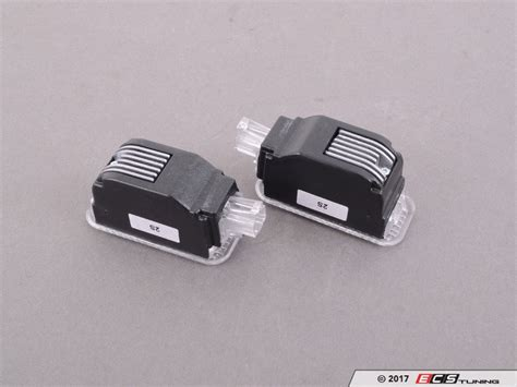 audi rings door light genuine volkswagen audi 4g0052133g led entry light set
