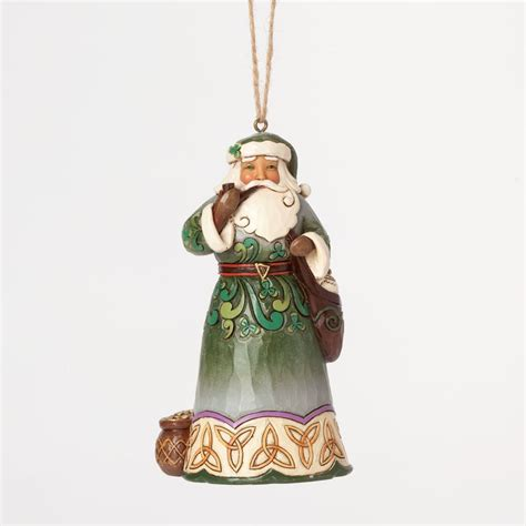 irish christmas celtic irish santa ornament at irishshop