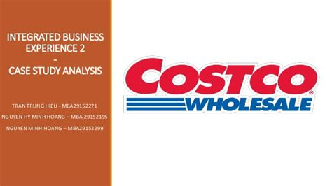 Costco Mba costco mission business model and strategy