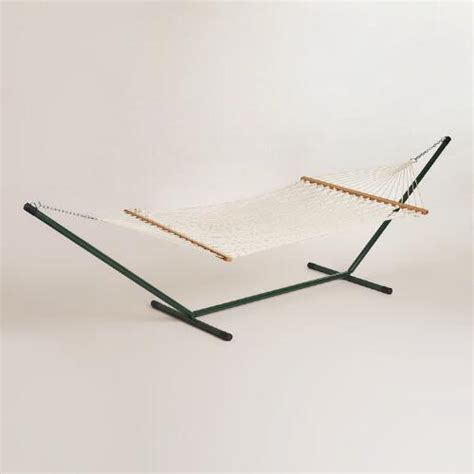 Rope Hammock With Stand Rope Hammock With Metal Stand World Market