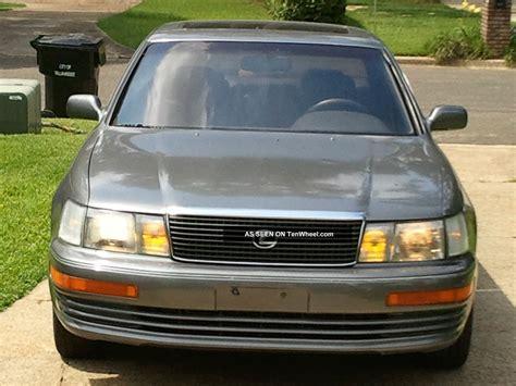 auto air conditioning repair 1990 lexus ls auto manual 1990 lexus ls400 base sedan 4 door 4 0l