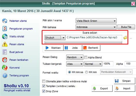 download mp3 adzan palembang download suara adzan dan alarm adzan windows