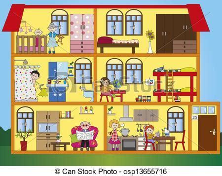 disegno interno casa clipart de interior casa ilustraci 243 n de interior