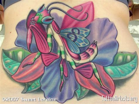 preying mantis tattoo orchid preying mantis artists org