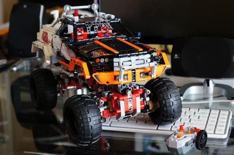 Lego Technic Remote 4x4 Crawler Jeep 9398 Lego Technic 9398 4x4 Crawler Part 2 187 Karlng