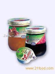 Menz Gasser Strawberry Jam Preserved Spread Selai Olesan Roti Stroberi dietetic jams products italy dietetic jams supplier