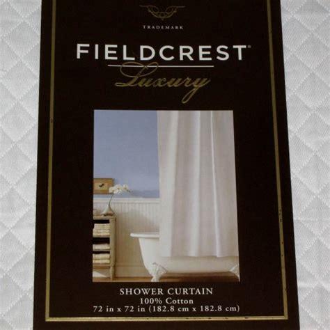 fieldcrest luxury shower curtain fieldcrest luxury white quilted fabric shower curtain target