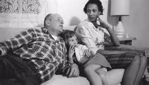 Richard and mildred loving with their daughter peggy