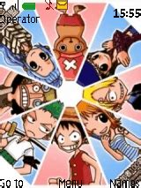 mobile themes one piece one piece characters mobile themes for nokia asha 203