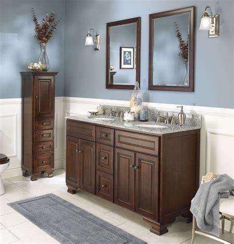 Bathroom Furniture Vanity Cabinets Bathroom With Vanity 2017 Grasscloth Wallpaper