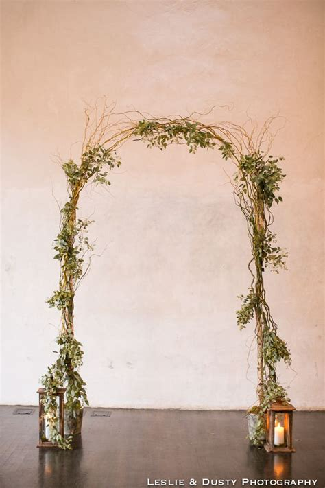 Wedding Arch Simple by Wedding Ceremony Arch Simple Greenery Seeded Eucalyptus
