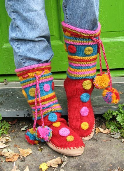 free pattern knitted slipper boots slipper socks and boots knitting patterns in the loop