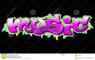 Graffiti musik st 228 dtische kunst lizenzfreies stockbild bild