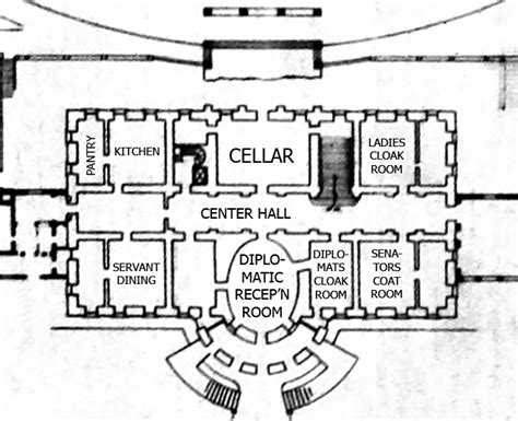original white house design white house original floor plan