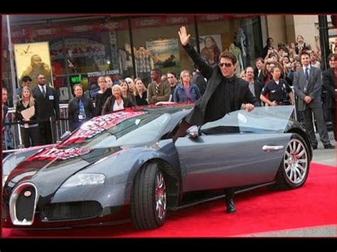 Bugatti Owners List Tom Cruise Car Collection And Jets Car