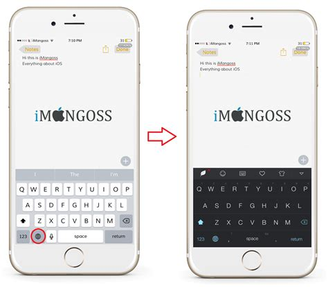 keyboard themes jailbreak how to theme customize ios keyboard without jailbreak