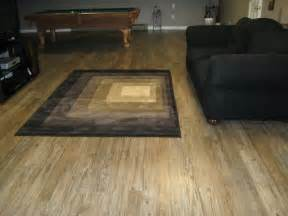 Vinyl Flooring In Basement Basement Floor Modern Living Room Bridgeport By Floor Decor