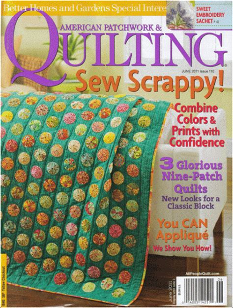 Better Homes And Gardens American Patchwork And Quilting - magazines better homes and gardens