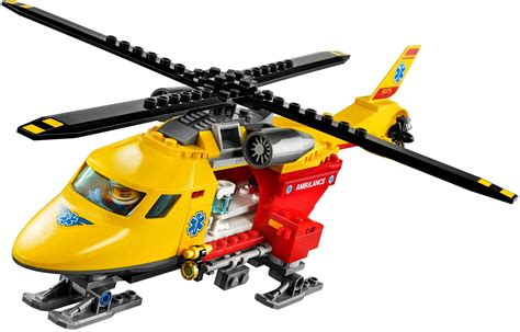 lego 60179 ambulance helicopter i brick city