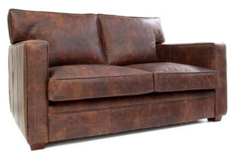Battered Brown Leather Sofa Memsaheb Net Battered Leather Sofa