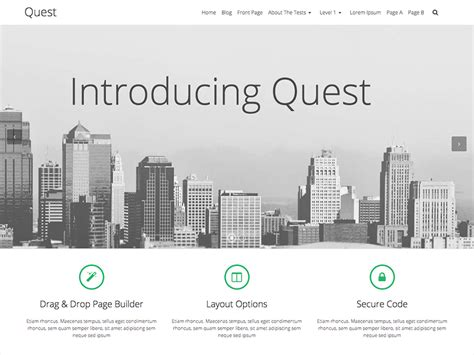 wordpress free themes quest 10 best free wordpress themes from june 2015