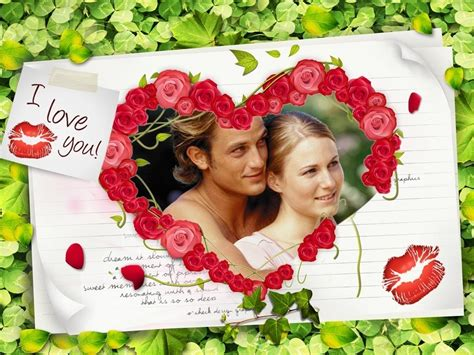 valentines day photo editor picture frames i you picture frames for him i