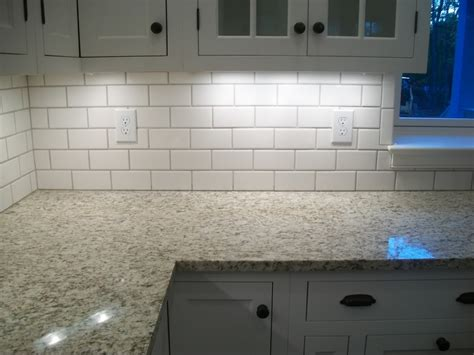 how to install a kitchen backsplash top 18 subway tile backsplash design ideas with various types