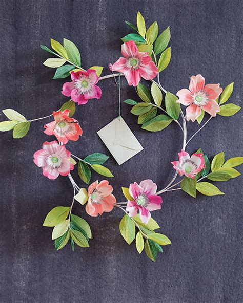 Floral Craft Paper - 4 beautiful paper flower projects from thuss farrell s