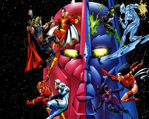 marvel dc wallpapers wallpapersafari dc vs marvel wallpaper wallpapersafari