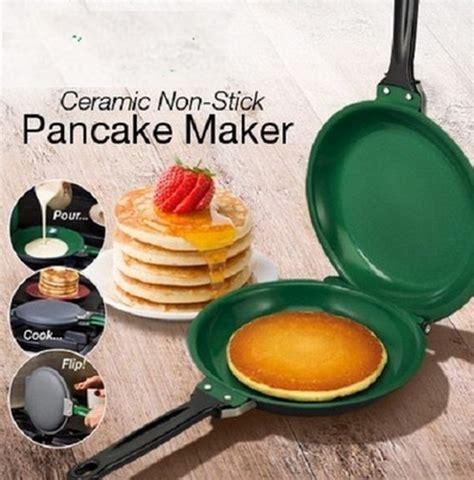 Best Quality Pan Wizhome Panci Anti Lengket Dan Tumpah ceramic non stick pancake maker lazada indonesia