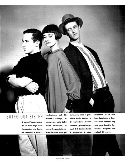 swing out sister 2 lansure s music paraphernalia swing out sister press