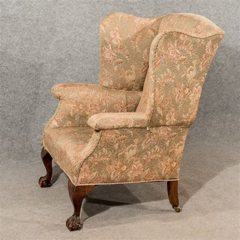 vintage wingback armchair antique large wing armchair wingback fire side antiques