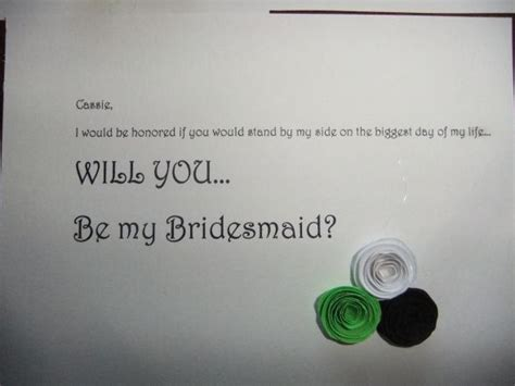 will you be my will you be my bridesmaid letters weddingbee photo gallery