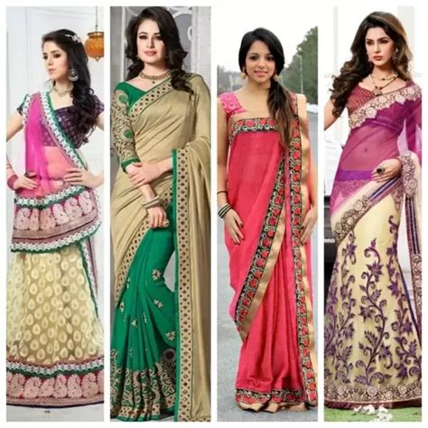 how to drape a saree like a lehenga what are the different styles of wearing 2017 quora