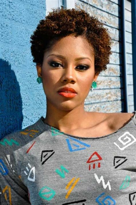 pics of black woman with short natural hair faded and tapered short haircuts for black women the best short hairstyles